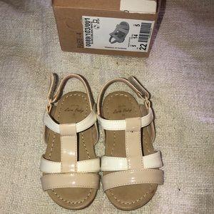 Girls sandals by Zara